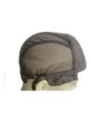 Extra Large No Part BLACK Weaving Cap. Wig Cap. Adjustable Strap. Stretchy.Custom made