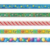 Border Trim Variety Pack, 3 x 35 Panels, Assorted Designs, 60/Set