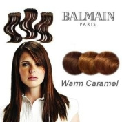 Balmain Hair Make-Up Length Extension - 40cm Warm Caramel