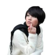 Bemaystar Women's Short Bob Hairstyle Wig Colour Black
