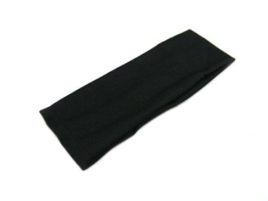 6.4cm Black Headband Alice Band Made from 100% Polyester
