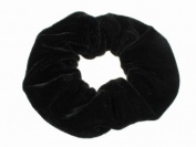 Glitz4Girlz Black Velvet Scrunchie