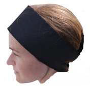 Black Disposable Headbands - Pack of 10