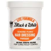Black & White Genuine Pluko Hair Dressing Pomade lift formula 200 ml