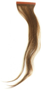 Qwik X 100 Percent Indian Remi Human Hair Tape Hair Extensions Colour 8 Mousey Brown 41cm