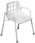 NRS Healthcare Height Adjustable Shower Chair