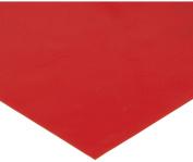 Tenura 75376-1201 Red Silicone Non-Slip Roll, 1m Length x 18cm - 1.9cm Width