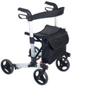 NRS Compact Easy Rollator Wheeled Walking Aid