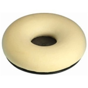 Motionperformance Essentials White Donut Shaped Memory Foam Comfort Pressure Relief Ring Cushion