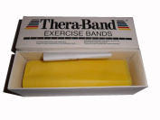 NRS Thera-Band® Exercise Band, Light Resistance - 5.48m (6 yards) Length