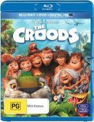 The Croods (Blu-ray/DVD/UV) [Region B] [Blu-ray]