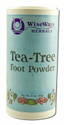 WiseWays Herbals Tea Tree Foot Powder -- 90ml