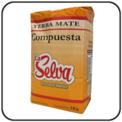 Yerba Mate La Selva Herbal Blend (Compuesta) 1kg