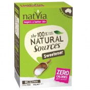 Natvia 100 % Natural Sweetener 80 Sticks