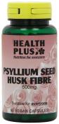 Health Plus Psyllium Seed Husk Fibre 500mg Digestive Health Supplement - 90 Capsules