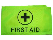 First Aider Aid Armband Yellow - Hi Vis Events,Concerts