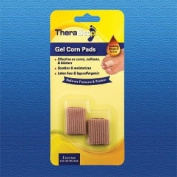 TheraStep | Gel Corn Pads|x 2 | One Size | Soothing Vitamin E & Aloe