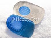Size 4-7 Fast Heel Pain Relief Plantar Fasciitis Heel Cushion Gel Heel Support Pad