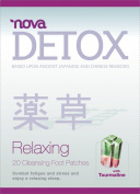 Detox Foot Pads by Nova Feet Detox Cleansing Toxins Patches - 20