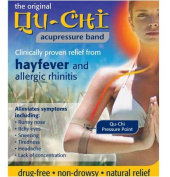Qu-Chi Acupressure Band - Clinically Proven Relief Hayfever & Allergic Rhinitis