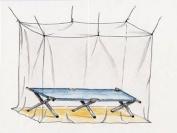 Basic Nature Solo Mosquito-Net, 2x1x2 m