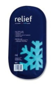 REL711 Relief reusable hot and cold pack. Reusable hot/cold therapy pack