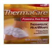 ThermaCare 3 Therapeutic Heat Wraps for Neck,Shoulder & Wrist