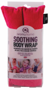 Aroma Home Body Wrap - Microwaveable Wheat & Lavender Leaf - Pink