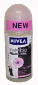 Nivea 50ml Invisible Black and White Clear Roll on Anti Perspirant Deodorant