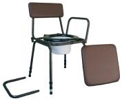 Aidapt Surrey Adjustable Commode Chair