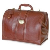 DB321 Elite Traditional Doctor's Bag In Brown Leather
