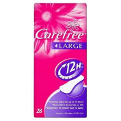 Carefree Panty Liners Maxi 28