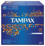 TAMPAX BLUE BOX SUPER PLUS 20