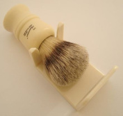 Shaving brush dripstand, cream