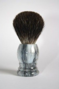 Shaving Brush Grey marble - Grey Badger Hair