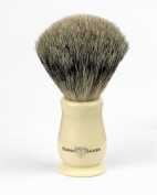 Edwin Jagger Imitation Ivory Chatsworth Shaving brush - best badger grade