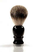 RAZZOOR Shaving Brush Black Badger Silvertip