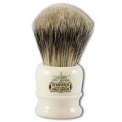 Simpsons Chubby 2 Best Badger Hair Shaving Brush in Imitation Ivory