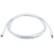 1.8m 32AWG Mini DisplayPort Cable - White [Electronics]