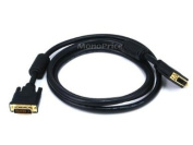1.8m 28AWG Dual Link DVI-D M/F Extension Cable - Black [Electronics]