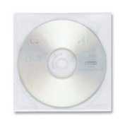 Compucessory : Self-Adhesive CD Holders, Polypropylene,50 Sheets/PK,White -:- Sold as 2 Packs of - 50 - / - Total of 100 Each