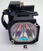 Glamps 915P043010 Replacement Lamp with Housing for Mitsubishi WD-52530/WD-52531/WD-62530/WD-62531 TVs