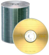 MAM-A 24 kt Gold CD-R with Logo - 100 Pack Spindle
