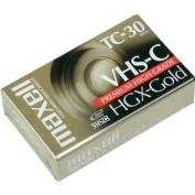 Maxell TC-30 VHS-C Videocassettes