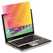 NEW - Frameless Gold Notebook Privacy filter for 36cm Widescreen Notebook Monitor - GPF141W