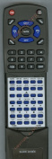 TOSHIBA Replacement Remote Control for 79103525, DR570, DR570KU