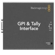 Blackmagic Design GPI and Talley Interface