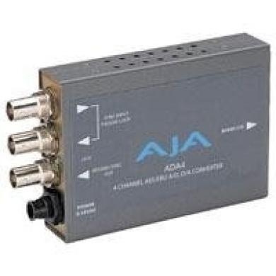 AJA ADA4 4-Channel Bi-Directional Audio A/D & D/A Converter