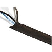 Techflex DRN4.00BK25 Dura Race 10cm Wide Carpeting Cable Cover, 7.6m - Black