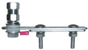 FireStik SS-134 Crimp-on stainless steel clamp-on flat mount